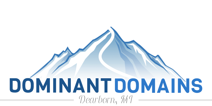 Dominant Domains LLC.   Dearborn, Michigan Website Design and Search Engine Optimization